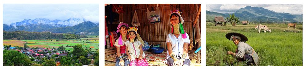 Dag 3 Mae Hong Son naar Mae Sarieng met een bezoek aan Karen Long Neck village
