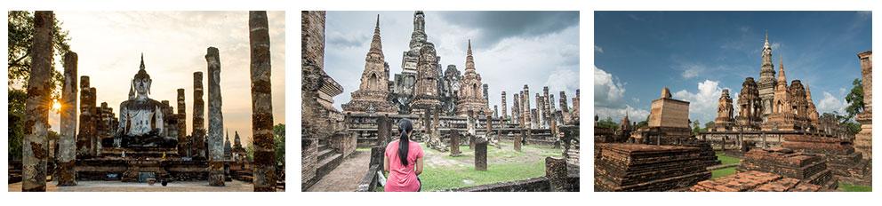 Dag 4: Mae Sarieng naar Sukhothai - Een toffe dag in het zadel van onze motorfiets