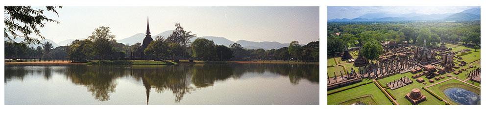 Dag 5: Rustdag in Sukhothai. We verkennen het historische park met onze motorfiets